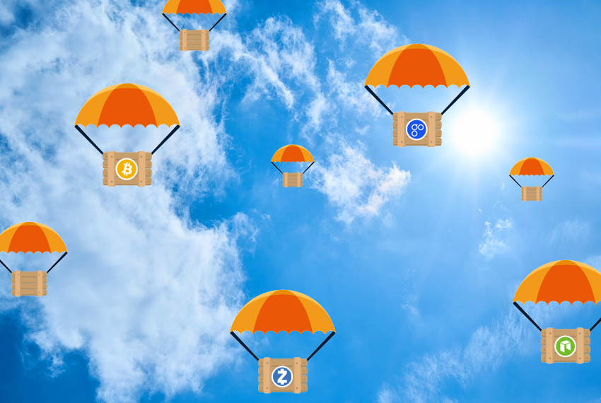 Wat is een airdrop? Gratis Cryptocurrency?